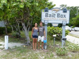 Baitbox auf Sanibel Island Florida