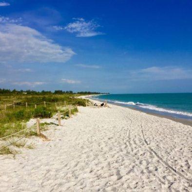 Bowman's Beach auf Sanibel Island Florida