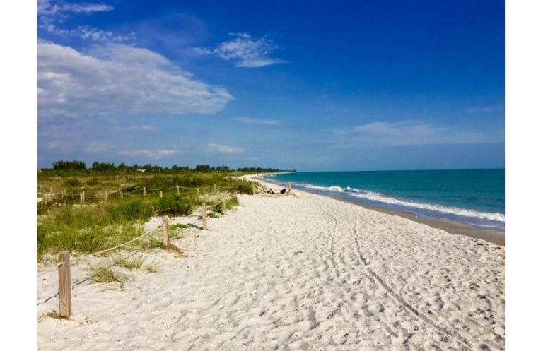 Bowman's Beach auf Sanibel Island Florida