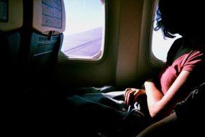 Flugreise genießen
