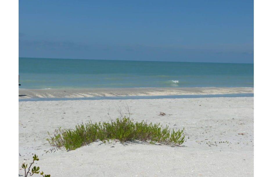 Turner Beach auf Sanibel Island Florida