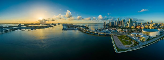 Miami Florida Panorama